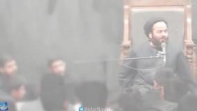 """سخنرانی تکان دهنده سیدحسن آقامیری """"خدا را ببینید"""""""