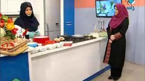 آموزش آشپزی خانم گل آور - پیتزا