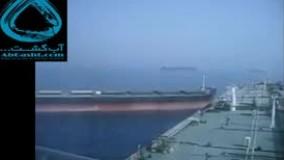 برخورد دو کشتی غول پیکر با یکدیگر ...