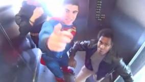 دوربین مخفی ترساندن در آسانسور - بسیــار جالب و خنده دار