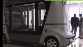 اتوبوس بدون راننده روسیه برای جام جهانی 2018