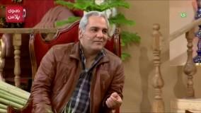 شوخی مهران مدیری با سوتی های جواد خیابانی در برنامه دورهمی