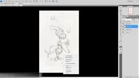 آموزش نقاشی با فتوشاپ به سبک مجله هنری ژوان