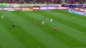 چهارمین و آخرین گل پرسپولیس به پدیده | شادی احمدزاده روی کول کامیابینیا