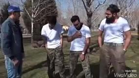کیلیپ + دابسمش  تعریف کردن دوران سربازی