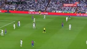 گل اول مسی؛ رئال مادرید-بارسلونا