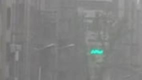 طوفان شدید در پایتخت