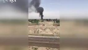انفجار چند کپسول گاز در ورامین در کمتر از یک دقیقه