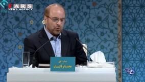 جدال لفظی روحانی و قالیباف در مناظره تلویزیونی