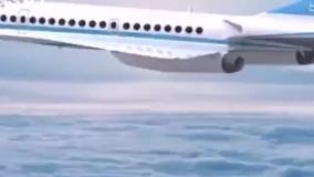 یک هواپیمای مسافربری مافوق صوت در دبی