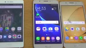 Samsung Galaxy J7 & J5 (2016) vs Huawei P9 Lite
