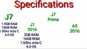Samsung Galaxy J7 Prime Vs J7