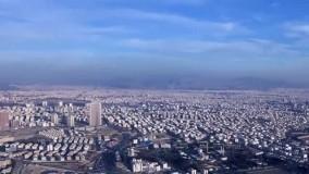 نمایی از تهران - تایم لپس