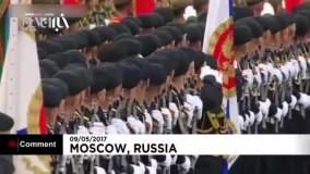 جشن روز ملی پیروزی در روسیه