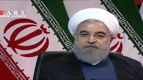 فیلم کامل اظهارات روحانی در شبکه خبر
