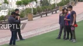 دو دقیقه با مسی ایرانی | پدرم پیشنهاد داد بدل مسی شوم