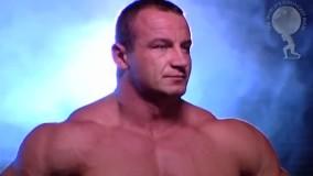 برنده چند دوره  قویترین مردان جهان ماریوش پوجانوفسکی
