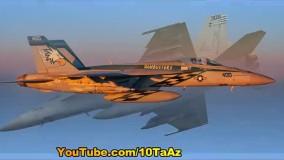 ۱۰ تا از بهترین و پیشرفته ترین جت های جنگنده