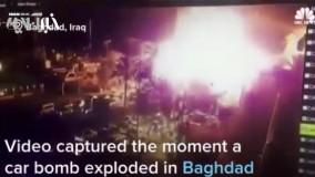 انفجار انتحاری در بغداد دهها کشته به جا گذاشت