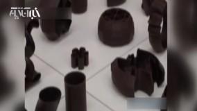 تولید شکلات سه بعدی در بلژیک