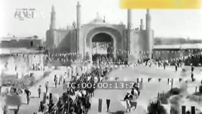 اولین تصاویر منتشر شده از تاجگذاری احمدشاه قاجار در کاخ گلستان توسط شرکت فرانسوی