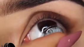 گذاشتن و برداشتن لنز در چشم