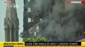 آتش سوزی گرنفل مهار شد