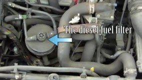 تعویض فیلتر بنزین 206