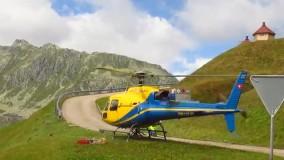بتن ریزی با هلیکوپتر