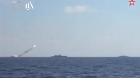 تصاویر پرتاب موشکهای کروز روسیه و برخورد آنها به اهدافی از گروه تروریستی داعش