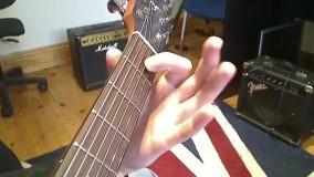 آموزش زدن 10 اهنگ روی گیتار