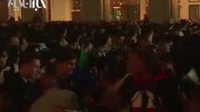 وحشت در تجمع هواداران تیم یوونتوس