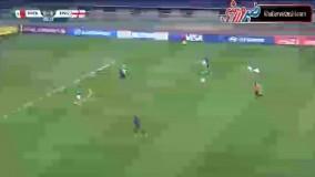 خلاصه بازی مکزیک 0-1 انگلیس