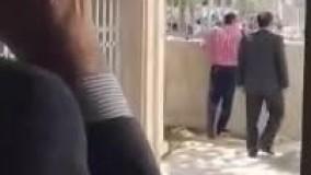 فیلم حادثه امروز مجلس مامور حفاظت مجلس شهید شد