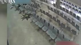 فیلم دوربین مداربسته مجلس از حادثه تروریستی دیروز