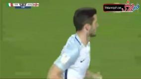 خلاصه بازی ایتالیا 1-3 انگلیس