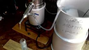 دستگاه گلاب گیری (بدون هدر رفتن آب)