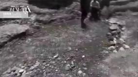 چیزی شبیه معجزه؛جوشش ناگهانی چشمه آب در منطقه کوشا احمدی