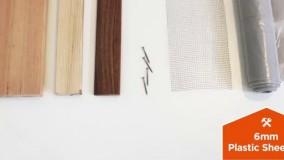 نجاری - آموزش ساخت گلدان چوبی دیواری