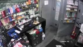 سرقت مسلحانه از پمپ بنزین
