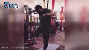سنتشکنی یک روحانی با 400 هزار فالوور | تمرینات TRX در باشگاه ورزشی