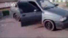 دستگیری 13 تبعه غیرمجاز در پراید درمسیر بم _ کرمان