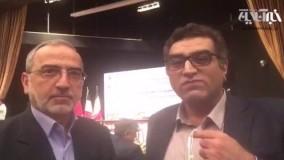 معاون وزیر نفت دقایقی قبل از امضای فاز ١١ با توتال