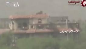 لحظهای که نظامی سعودی شکار تکتیرانداز یمنی میشود