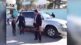 لحظه تحویل کودک ربوده شده سیرجانی به مادرش