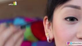 آموزش آرایش خط چشم (9 مدل مختلف)