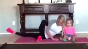 ورزش مادر و کودک
