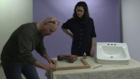 آموزش نجاری - اموزش ساخت پایه برای رو شویی