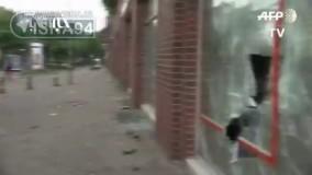 ویرانیهای هامبورگ پس از اعتراضات به اجلاس G20