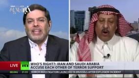 مناظره داغ استاد دانشگاه تهران و تحلیل گر سعودى در شبکه راشاتودى
